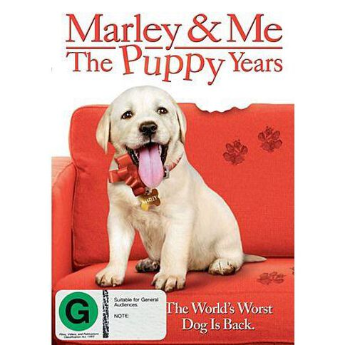 Marley and Me The Puppy DVD 1Disc