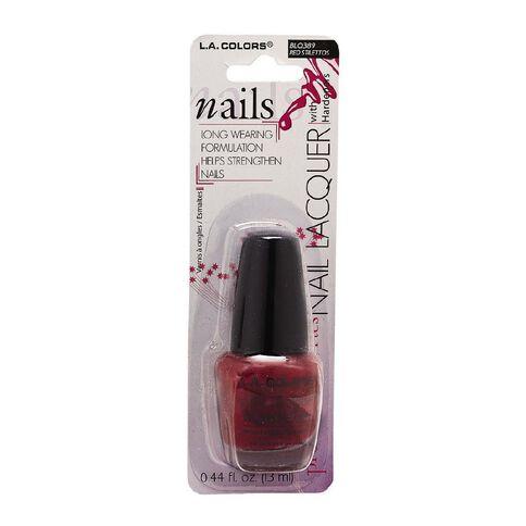 La Colors Nail Polish Red Stillettos