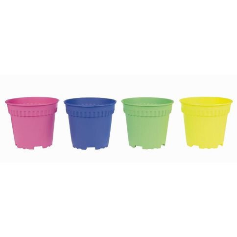 Baba Coloured Pot 4 Pack