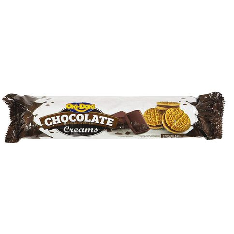 Oki Doki Chocolate Creams 200g