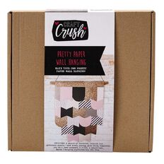 Craft Crush Paper Wall Hanging Kit