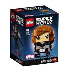Marvel LEGO Brickheadz Black Widow 41591