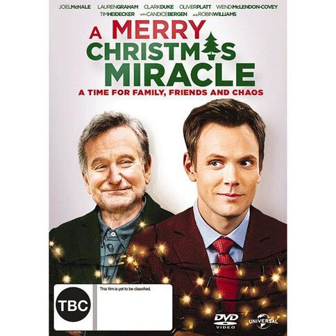 A Merry Christmas Miracle DVD 1Disc