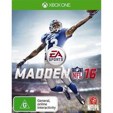 XboxOne Madden NFL 16