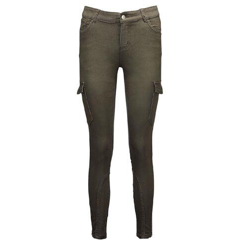Amco Women's Pocket Biker Jeans