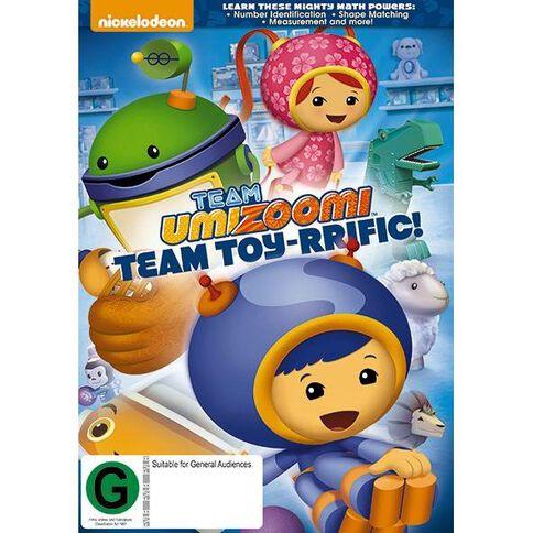 Team Umizoomi - Team Toy-rrific! DVD 1Disc