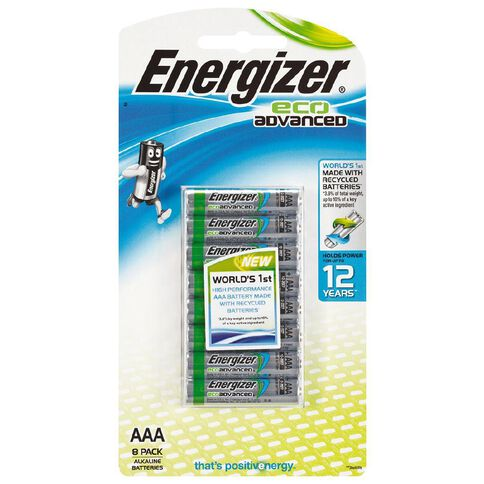Energizer Eco Advanced AAA 8 Pack