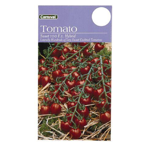 Carnival Seeds Tomato Sweet 100 F1 Hybrid