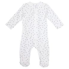 Hippo + Friends Baby Printed Zip All-in-One