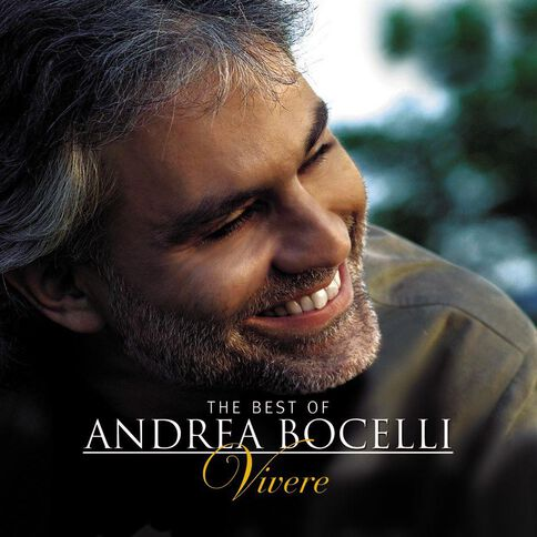 Vivere The Best of CD by Andrea Bocelli 1Disc