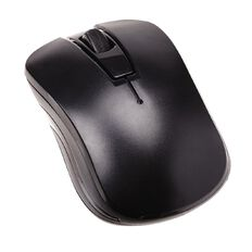 Necessities Brand Wireless Travel Mouse Black