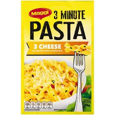 Maggi 3 Minute Pasta Three Cheese 70g