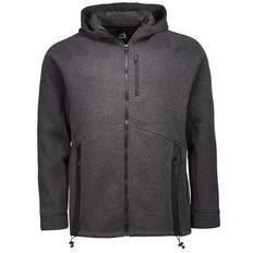 Active Intent Men's Sherpa Zip Tie Sweatshirt
