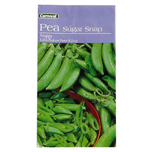 Carnival Seeds Sugar Pea Vegetable