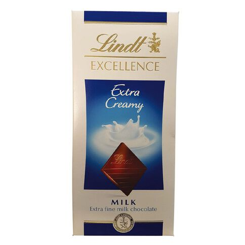 Lindt Excellence Milk Extra Creamy 100g