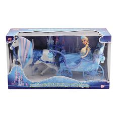 Play Studio Fashion Doll & Carriage with Light