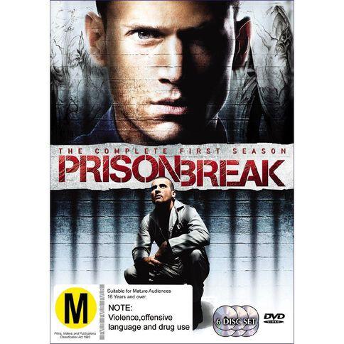 Prison Break Season 1 DVD 6Disc