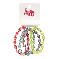 A'nD Beaded Bracelets 4 Pack