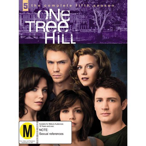 One Tree Hill Season 5 DVD 5Disc