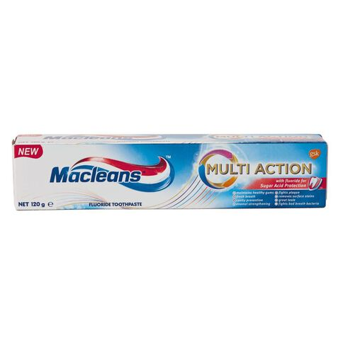 Macleans Multi-Action Sugar Acid Protection Toothpaste 120g