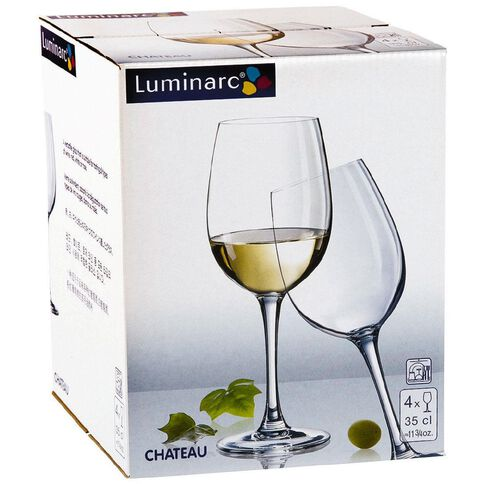 Luminarc Chateau White Wine 4 Pack
