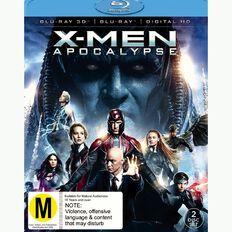 X-Men Apocalypse 3D Blu-ray 2Disc
