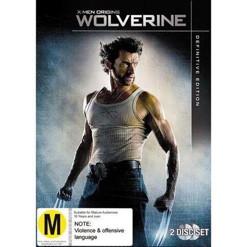 Wolverine DVD 2Discs