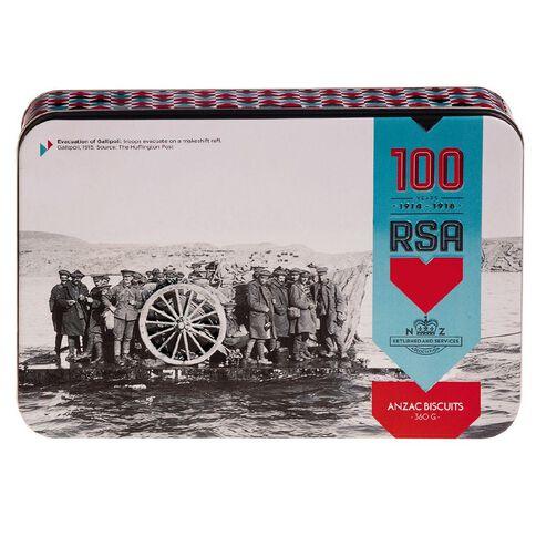 RSA Anzac Biscuit Tin 360g