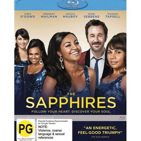 The Sapphires Blu-ray 1Disc