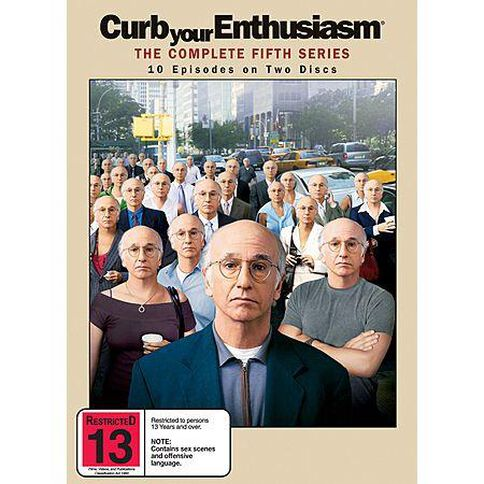 Curb Your Enthusiasm Season 5 2 Discs 2DVD
