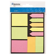 Deskwise Sticky Note & Flag Set 9 Piece