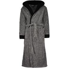 H&H Men's Hooded Robe