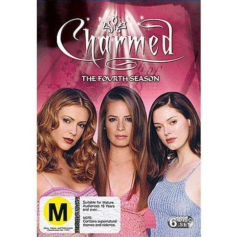 Charmed Season 4 DVD 6Disc