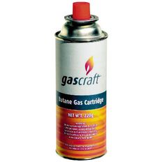 Gascraft Gas Camping Butane Gas Cartridge 220gsm