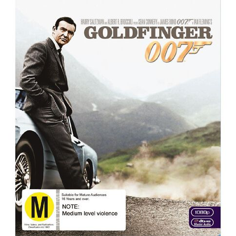 Goldfinger 2012 Version Blu-ray 1Disc