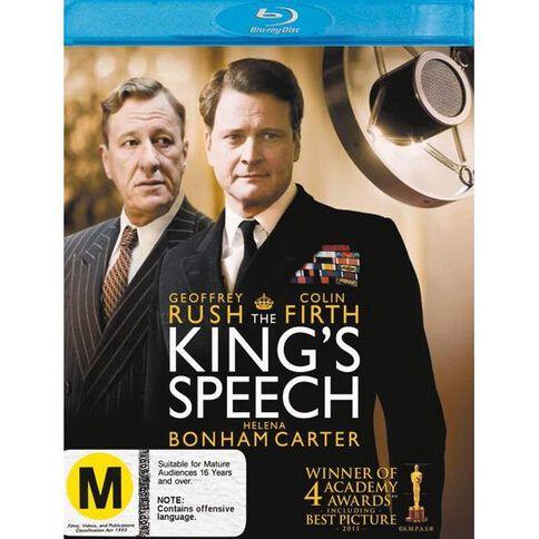 The Kings Speech Blu-ray 1Disc