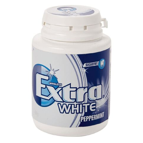 Wrigley's Extra White Peppermint Bottle 64g