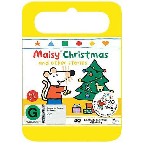 Maisy Christmas & Other Stories Vol 10 Yellow Handle Packaging DVD 1Disc