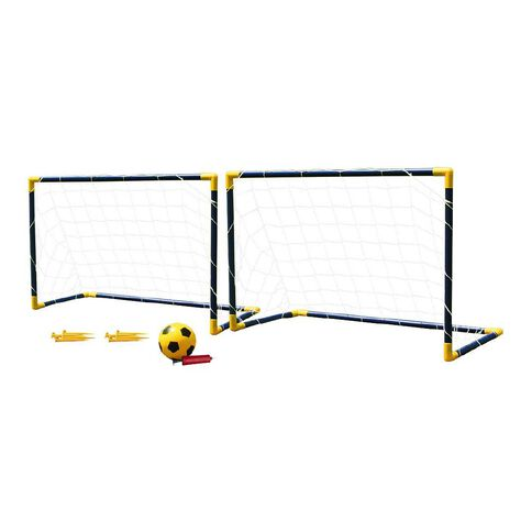 Active Intent Twin Soccer Goal Set