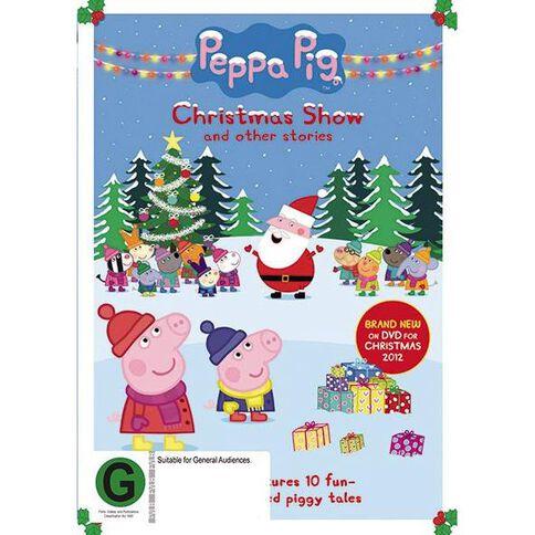 Peppa Pig Christmas Snow DVD 1Disc