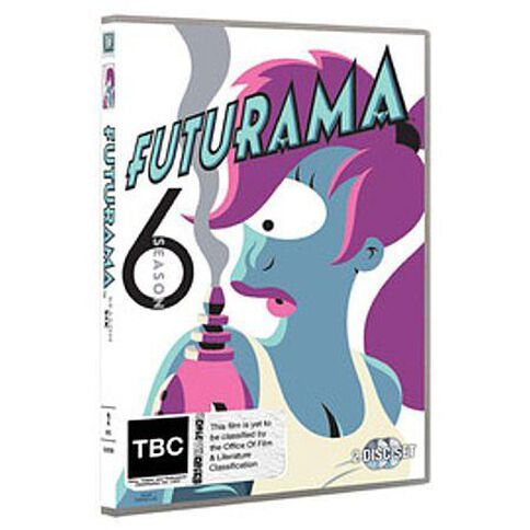 Futurama Season 6 DVD 2Discs