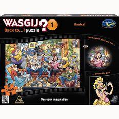 WASGIJ Puzzle Back To Basics 1000 Piece