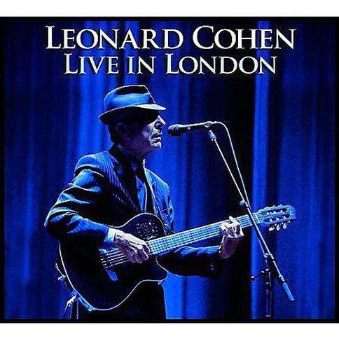 Live in London CD by Leonard Cohen 2Disc