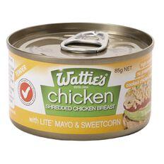 Wattie's Shredded Chicken Mayo & Sweetcorn 85g