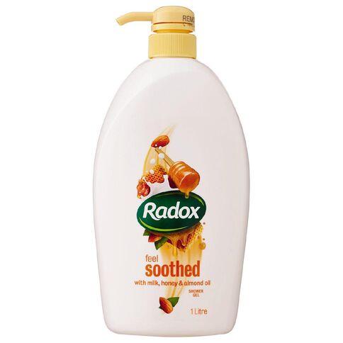 Radox Body Wash Honey & Almond 1L