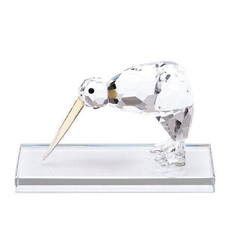 J Lili Crystal Kiwi with Stand Figurine
