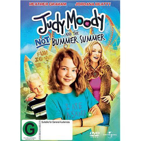 Judy Moody And The Not So Bummer Summer DVD 1Disc