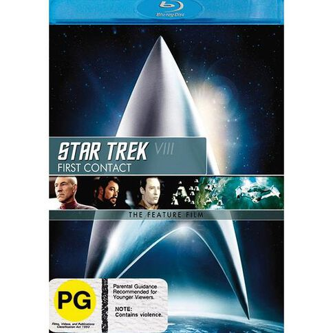Star Trek 8 First Cont Blu-ray 1Disc