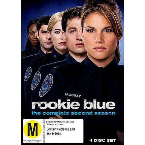 Rookie Blue Season 2 DVD 2Disc