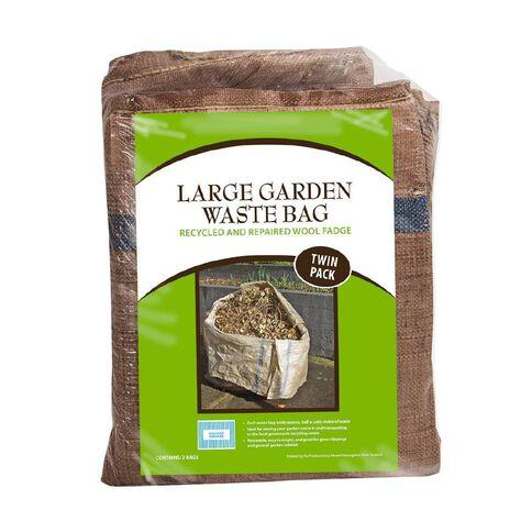Garden Waste Bag Twin